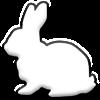Kaninchen pur